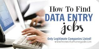 data entry work at home jobsi have gathered a list of companies that recruit data entry keyers to work from home