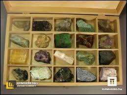 102-13 Коллекция минералов и их разновидностей (20 <b>образцов</b> ...