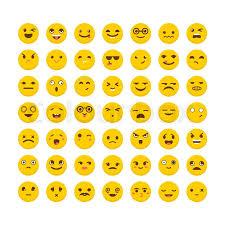 Set of <b>emoticons</b>. <b>Funny cartoon</b> faces. ...   Stock vector   Colourbox