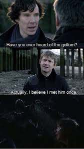 7 Of The Best Sherlock/Lord Of The Rings Crossover Memes | Sing Viral via Relatably.com