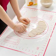 <b>60*40cm</b> Heat-resistant Non-stick Silicone Paste Rolling Pad Pastry ...