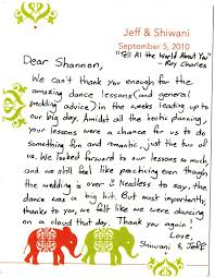 thank you letter to dance teacher thank you letter  vhhutcheson professional dispositions thank you letter