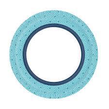 <b>Тарелки Бумажные EXTRA</b> STRONG RICE BLUE 22 см ...