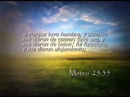 Resultado de imagen para Mateo 25,31-46