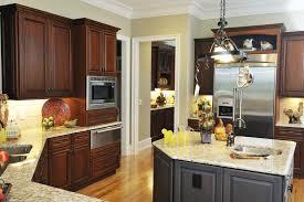 Different Kitchen Cabinets White Or Dark Kitchen Cabinets