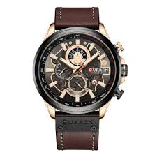 <b>CURREN 8374 Men</b> Waterproof Calendar Quartz Watch Simple ...