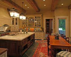 open kitchen design farmhouse: fancy open kitchen dining area ironhorse farm house