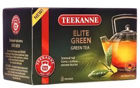 <b>Чай зеленый Teekanne Elite</b> green в пакетиках — купить по ...