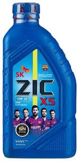 <b>Моторное масло ZIC</b> X5 10W-40 1 л — купить по выгодной цене ...