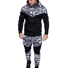 Mens Autumn Winter Camo Patchwork Lightweight ... - Amazon.com