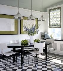 view in gallery set of ivory lacquer chairs with black legs for the modern black and white dining room black lacquer dining room