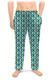 <b>Мужские пижамные штаны</b> Волны #2695964 – заказать <b>мужские</b> ...