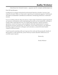 best help desk cover letter examples   livecareerhelp desk cover letter examples