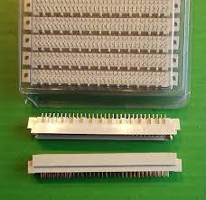 <b>DIN Plug</b> 64 Way Reverse Vertical PCB <b>DIN41612</b> part <b>D364MST1D</b> ...