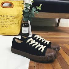 <b>Unisex</b> Lace-Up <b>Canvas Flat Sneakers</b> Women/Men Low Tops ...