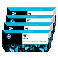 HP 91 <b>Pigment Ink Cartridge for</b> Designjet Z6100 Printers
