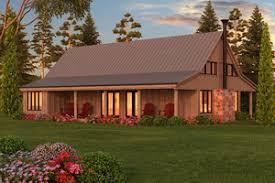 Barn Style Plans   Houseplans comSignature Farmhouse Exterior   Other Elevation Plan       Houseplans com