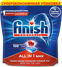 <b>Таблетки</b> для посудомоечной машины <b>Finish</b> All in One ...