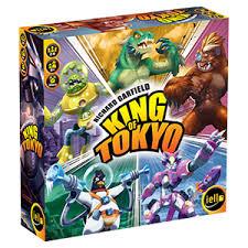 <b>Настольная игра King of</b> Tokyo. New Edition , купить по низкой ...