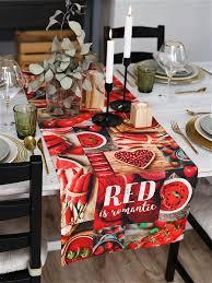 """<b>Дорожка на стол</b> """"RED"""" Этель 8000954 в интернет-магазине ..."""