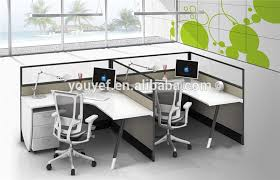 long office desk. contemporary design long office table 2 drawers for 4 people wholesale desk