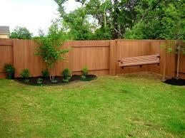 backyard fence ideas privacy patio large