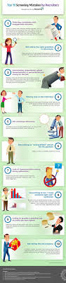top 10 screening mistakes made by recruiters infographic screening mistakes3