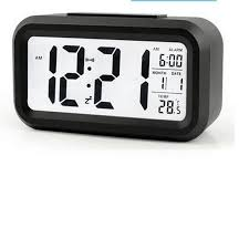 Mute calendar temperature <b>alarm</b> smart luminous smart <b>clock</b> ...