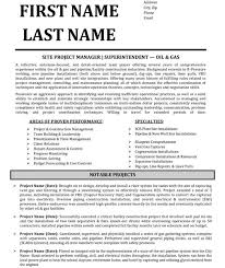 top project manager resume templates samples construction superintendent resume examples