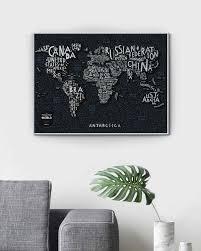 Скретч <b>Карта</b> Мира <b>TRAVEL MAP</b> LETTERS WORLD - <b>1DEA</b>.<b>me</b>