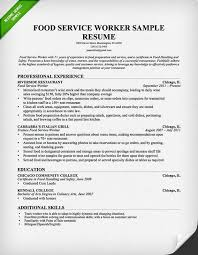 food service waitress waiter resume samples tips food service server food server job description