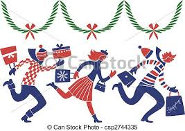Image result for christmas shopping free clipart
