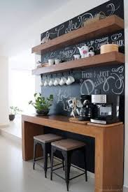 before and after amazing chalkboard coffee bar antes y despus increble rincn para built coffee bar makeover