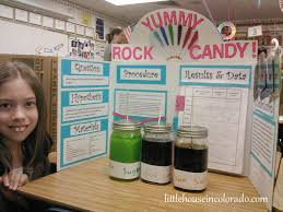 th grade science project making rock candy kid stuff little house in colorado sweet science fair project