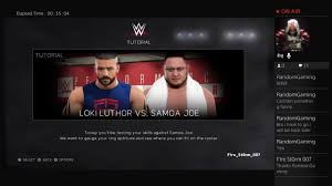 wwe 2k17 new career start up wwe 2k17 new career start up