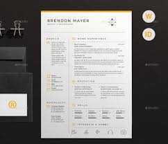 best resume templates and cvs to use to get your new dream job in clean and simple resume cv by dejmus
