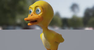 <b>Little Yellow Duck</b> in Characters - UE Marketplace