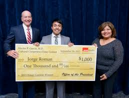 hpgevent hispanic center of excellence utmb health hector p garcia essay contest winner