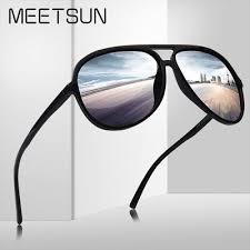 MEETSUN Pilot <b>Polarized Sunglasses</b> for <b>Men Driving</b> Outdoor Sun ...
