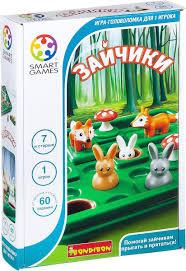 <b>Bondibon</b> Настольная игра Зайчики — купить в интернет ...