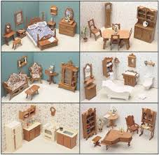 wood dollhouse furniture ebay cheap wooden dollhouse furniture