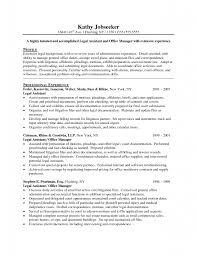 legal secretary resume maintain legal library template law school resume