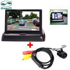 GreenYi Bacukup Monitor Camera Kit <b>Mini Car Rear View</b> Reverse ...