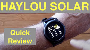 XIAOMI YOUPIN <b>HAYLOU SOLAR</b> IP68 Waterproof Sports Fitness ...