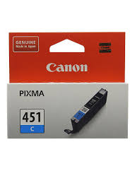 Струйный <b>картридж</b> СLI-451С Cyan (6524B001) <b>CANON</b> 7140474 ...
