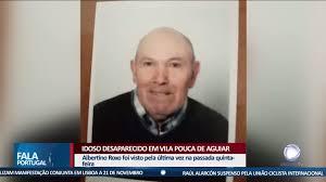 Idoso desaparecido em Vila Pouca de Aguiar