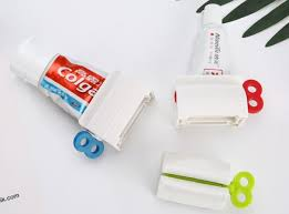 <b>1PC</b> Rolling <b>Tube Toothpaste</b> Squeezer Dispenser <b>Toothpaste</b> Seat ...