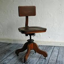 antique oak office chair antique oak office chair