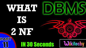 what is nf in dbms second normal form dbms interview what is 2nf in dbms second normal form dbms interview questions and answers