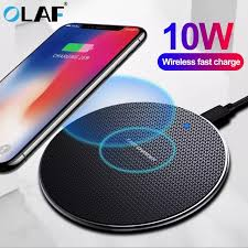 <b>Olaf 10W Fast Wireless</b> Charger | Shopee Malaysia
